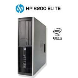 HP 8200 ELITE PC SFF | INTEL CORE i5 2500 | 8GB DDR3 | 256GB SSD | DVD-RW | EXLEASING