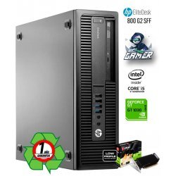 HP ELITEDESK 800 G2 GAMING | INTEL CORE i5 6500 | MSI NVIDIA GEFORCE GT 1030 2GB DDR5 OC EDITION LP | 8GB DDR4 | 256GB SSD | DVD-RW | EXLEASING
