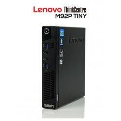 LENOVO THINKCENTRE M92P TINY MINIPC | INTEL CORE i5 3470T | 4GB DDR3 | 128GB SSD | EXLEASING